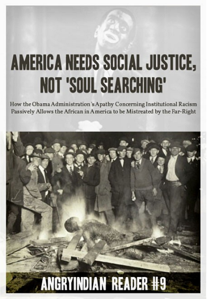 "America Needs Social Justice, Not ""Soul Searching"""